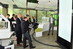 inRaum-ATMO - Eröffnung des intelligenten Büros im Fraunhofer-inHaus, Duisburg