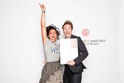 Glückliche Preisträger eines Red Dot: Best of the Best