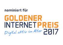 """Unsere XING-Gruppe """"Job search for refugees"""" wurde für den Goldenen Internetpreis nominiert."""