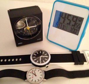 verschiedene Uhren