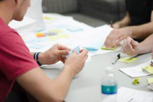Innovationsprozess mit Design Thinking Foto von Elle Hughes von Pexels